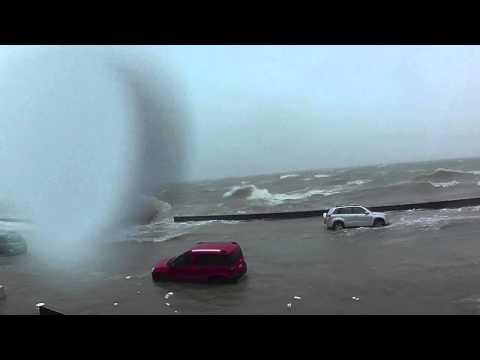 Cyclone Ita hits Kohimarama