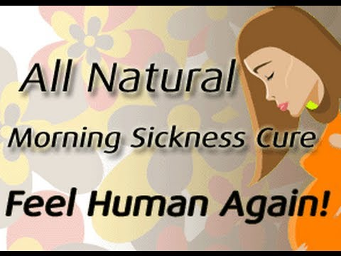 How To Get Rid of Morning Sickness