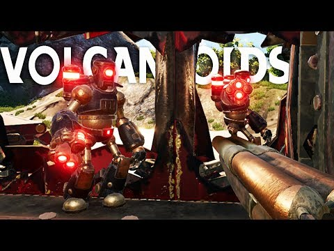 Sneaking Inside Enemy Drillships to Loot and Destroy - Volcanoids Gameplay