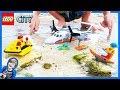 Lego City Coast Guard Sea Plane Rescue!