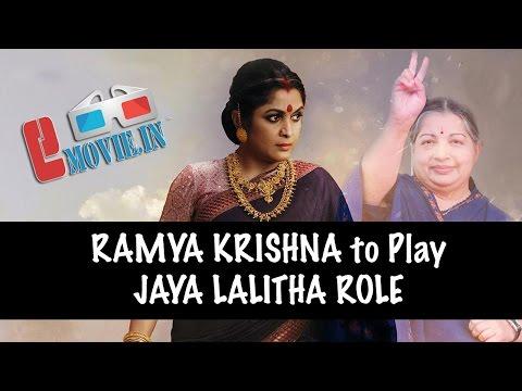 Ramya Krishnan as Tamilnadu CM Jayalalitha role? Photo Image Pic