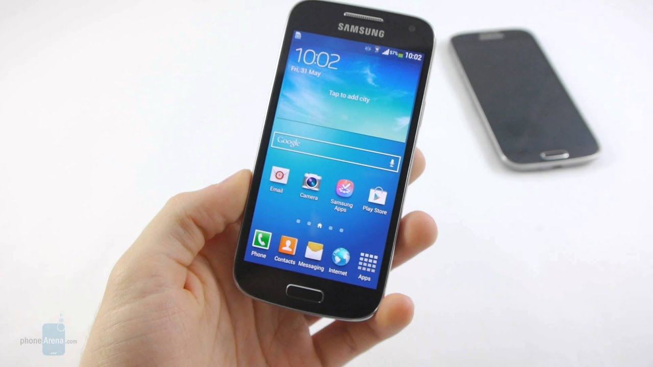 samsung galaxy s4 mini hands on youtube. Black Bedroom Furniture Sets. Home Design Ideas