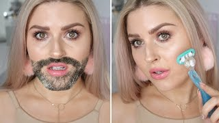 How To Remove Facial Hair At Home! ♡ Shaaanxo