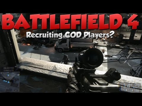 Battlefield 4 Recruiting COD Players? (BF4 Gameplay/Commentary)