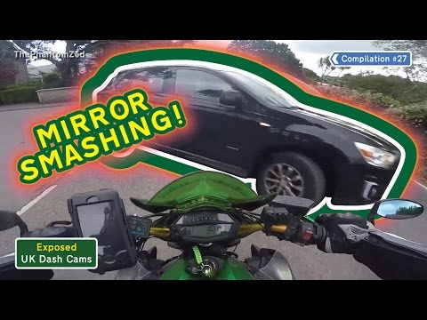 UK Dash Cams - Poor Drivers, Road Rage + Crash Compilation #27