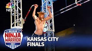 """Morgan """"Moose"""" Wright at the Kansas City City Finals - American Ninja Warrior 2017"""