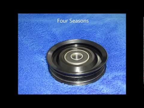 Dayco vs. Four Seasons A/C Compressor Tensioner/Idler Pulley
