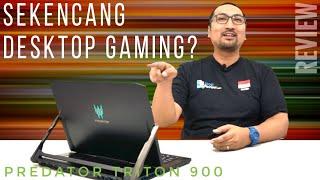 Laptop/Tablet Sekencang PC Desktop Gaming? Review Acer Predator Triton 900 RTX 2080 - Indonesia