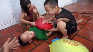 Trò Chơi Bóng Nước Đè Người - Bé Nhím - Đồ Chơi Trẻ Em Thiếu Nhi