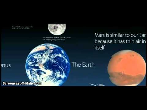 Amazing Wonders of the Solar System- prezi