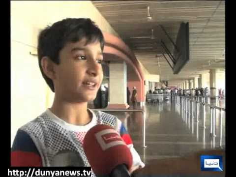 Dunya News-01-09-2012-Protest On Airport