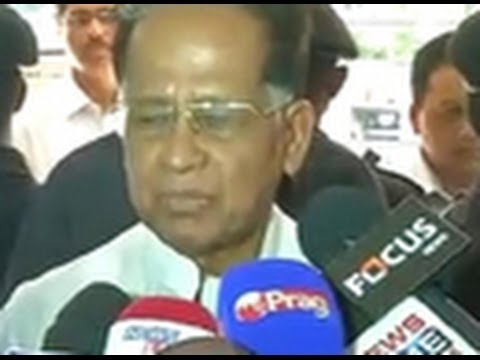 Will submit resignation tomorrow: Assam CM Tarun Gogoi