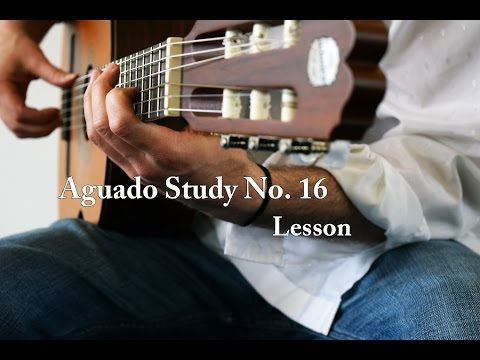 Dionisio Aguado - Study In D Major No 16