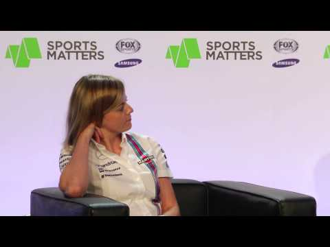 Claire Williams and Susie Wolff @ Sports Matters 2014