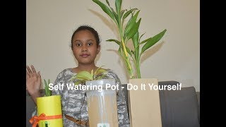 Self Watering Pot With Water Level Indicator Making - Do It Yourself