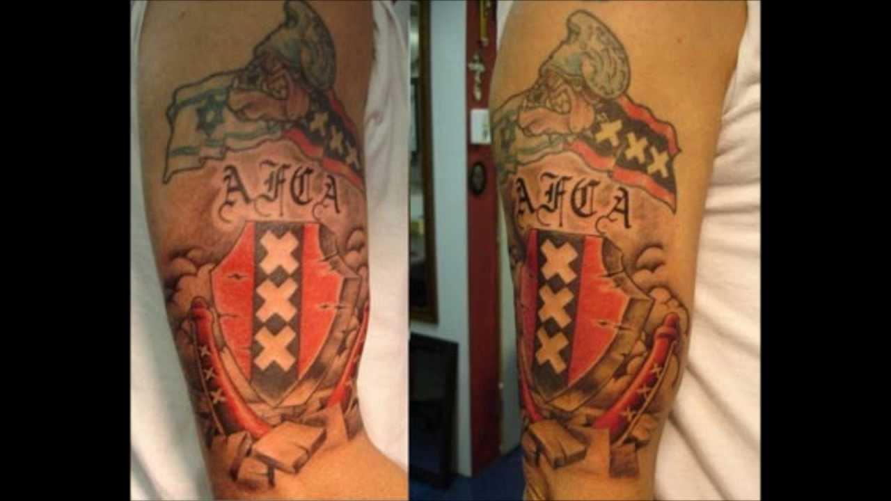 Afca nl 750 tattoos ajax amsterdam youtube for Amsterdam tattoo artists