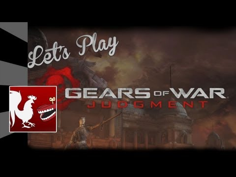 Achievement Hunter : Let's Play - Gears of War Judgment Survival Mode