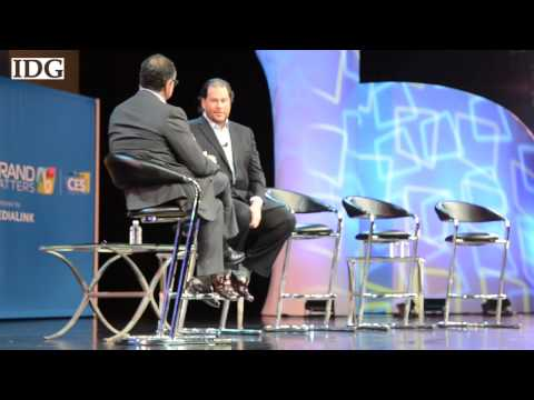 CES2013: Marc Benioff of Salesforce talks social media strategy and consumer opinion