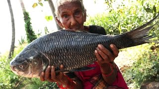 Big Fish Fry | 7 kgs Big fish recipe By Our Granny