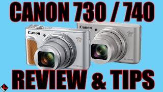 02. Canon PowerShot SX730 (740) HS Review, Tutorial & Tips