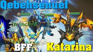 Summoners War - Qebehsenuef and Katarina ... Best Friend Forever?