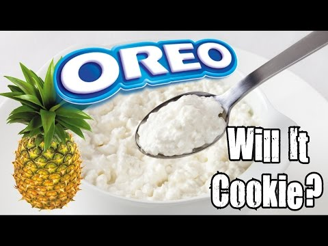 Will It Cookie? - Pineapple Cottage Cheese Oreo