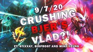 CHALLENGER KINDRED DEFEATS BJERGSEN'S VLAD FT. Stixxay, Biofrost, MikeYeung - League of Legends