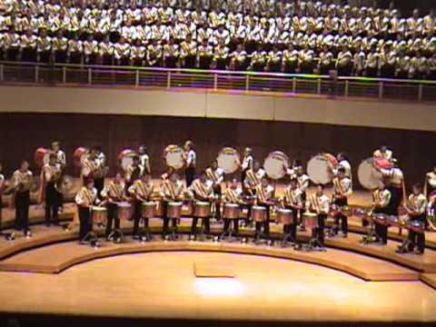UMD Drumline 2012 Kaleidescope