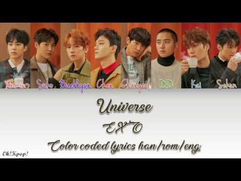 Exo - Universe color coded lyrics [han/rom/eng] by Ok!Kpop!