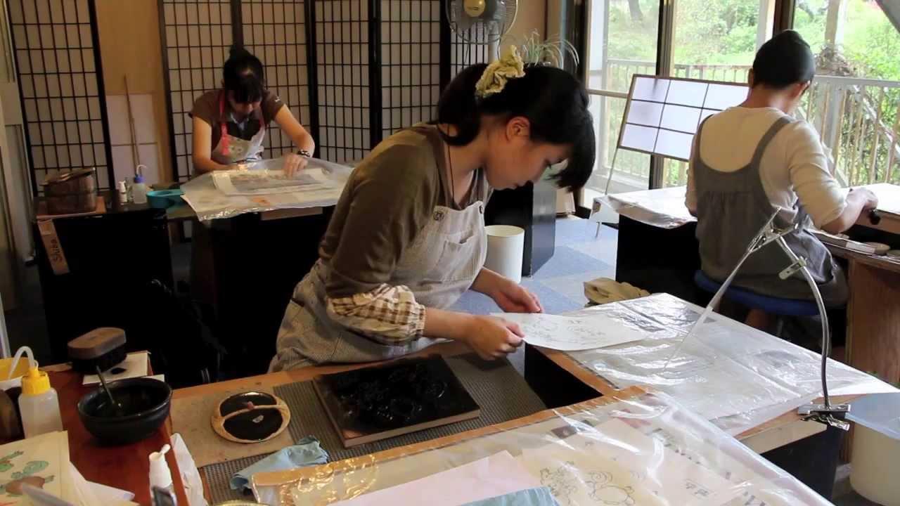 Ukiyoe Heroes 21 Making The I Choose You Woodblock