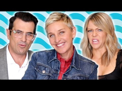 """Ellen Degeneres & The """"Finding Dory"""" Cast Play """"Would You Rather?"""""""