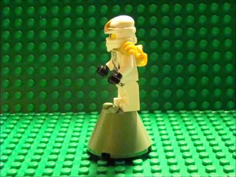 Lego Ninjago Ninjas Change from NRG To ZX! Stop Motion Animation!!