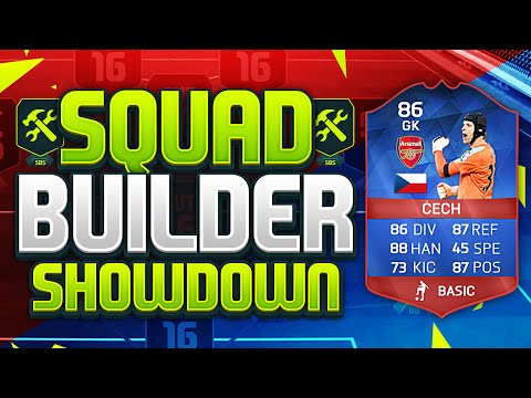 FIFA 16 SQUAD BUILDER SHOWDOWN!!! RECORD BREAKER CECH!!! BPL Clean Sheet Record Holder Squad Duel
