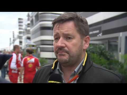 2015 Russia - Post-Race: Paul Hembery
