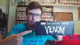 VENOM Funko Marvel Collector Corps Unboxing