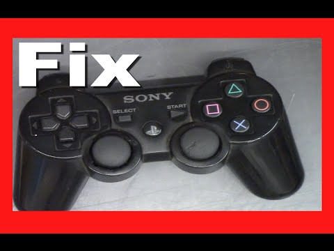 How to fix a broken PS3 Controller