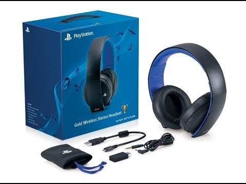 Unboxing: Gold Wireless Headset (PT-BR) [HD] (PS4/PS3/PSVita)