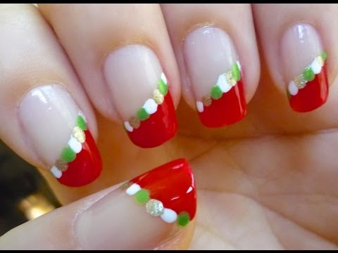 Christmas Nails - Nail art Tutorial