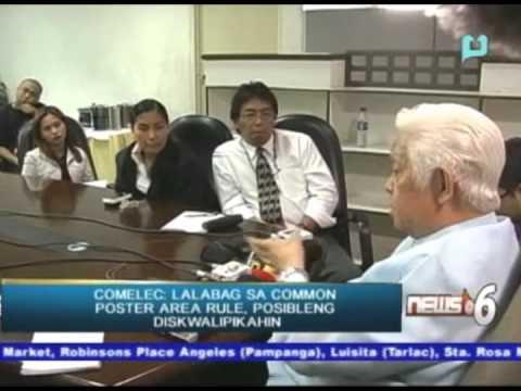 COMELEC: Lalabag sa 'common poster area rule', posibleng diskwalipikahin