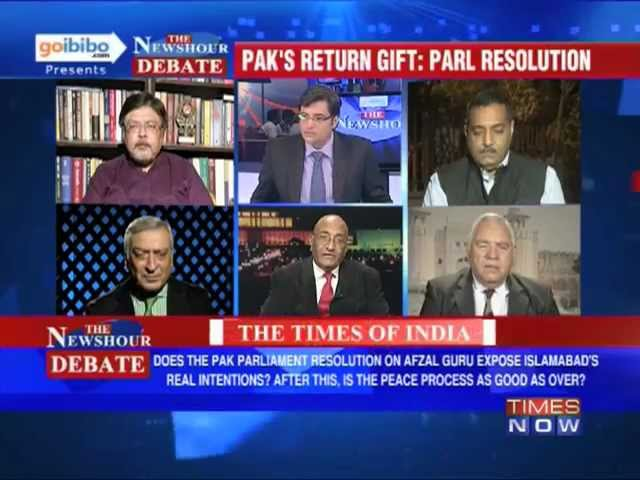 The Newshour Debate: Pakistan's Resolution - How much will India tolerate? (Part 1 of 3)