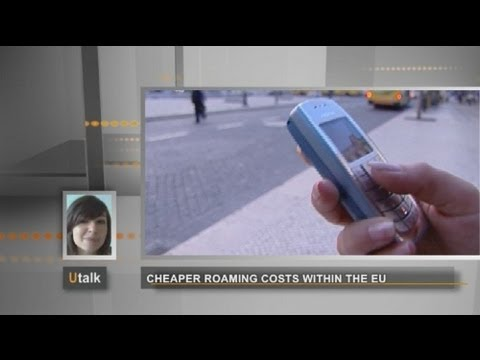euronews U talk - Roaming in Europe: what are the data rates for smartphones?