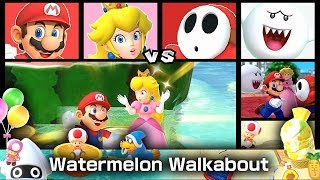 Super Mario Party Partner Party Watermelon Walkabout 20 Turns #16