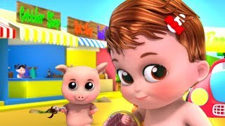 To Market To Market | Nursery Rhymes For Children | Videos For Babies by Kids Baby Club