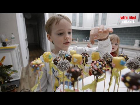 Делаем Конфеты для школьной ярмарки / Hand Made Сandies Cake Pops