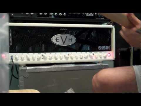 Jason Hook jamming on his EVH 5150III