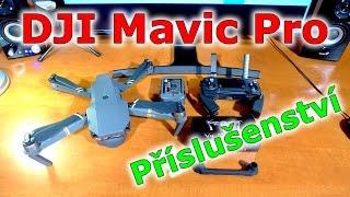 DJI Mavic Pro cz příslušenství pro dron   accessories Aliexpress unboxing