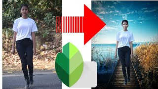 Change your image Backgroud Easily    How to change Background in snapseed