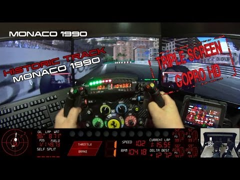 Monaco 1990 - Historic Track Virtual Lap - Digiprost