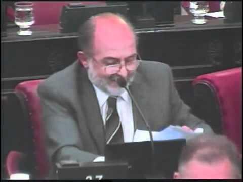 Garcia Elorrio explica el accionar terrorista de los a�os 70
