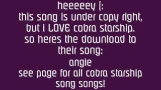 Watch Cobra Starship Angie video